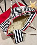 Пляжна сумка жіноча Стріпс №3, фото 2