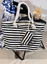 Пляжна сумка жіноча Стріпс №4
