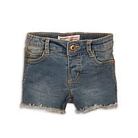 Джинсовые шорты для девочки, синие