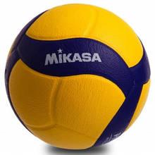 Мяч волейбольный MIKASA PU, №5, 5 сл., клееный (V320W)