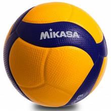 Мяч волейбольный MIKASA PU, №5, 5 сл., клееный (V200W)