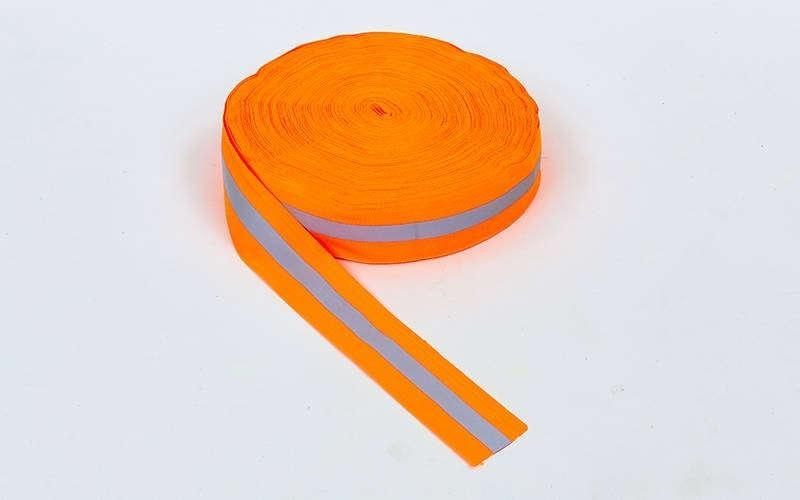 Лента для разметки спортивных площадок, l-50м, полиэстер, оранжевый (C-4896OR-50)