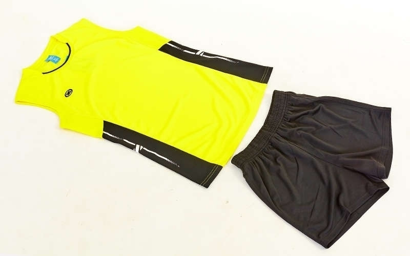 Форма волейбольная женская Sport, полиэстер, р-р S-3XL-140-175см(40-68кг), желтый (6503W-(yl))