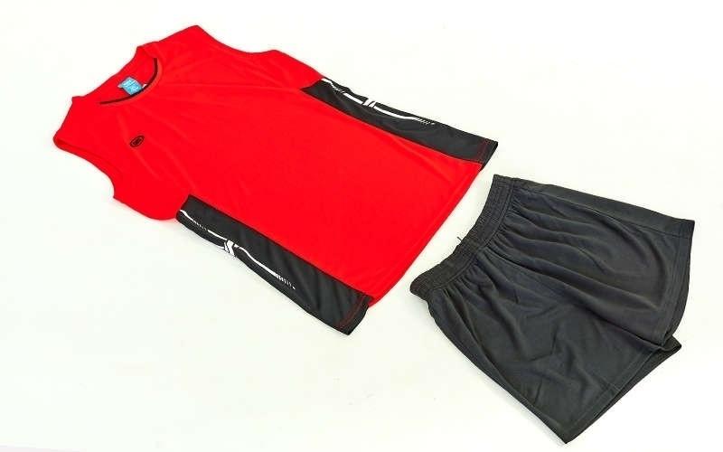 Форма волейбольная женская Sport, полиэстер, р-р S-3XL-140-175см(40-68кг), красный (6503W-(rd))