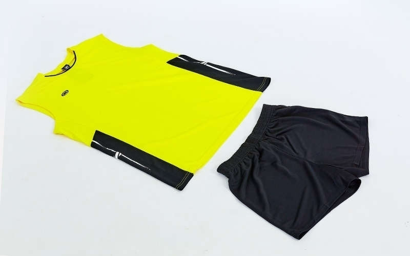Форма волейбольная мужская Sport, полиэстер, р-р M-4XL-155-185см, желтый (6503M-(yl))