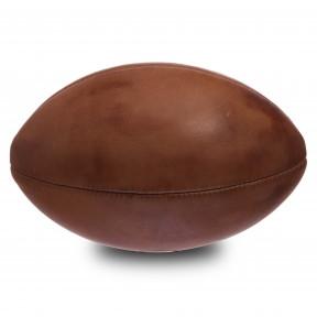 Мяч для регби кожаный VINTAGE Rugby ball кожа, 4 панели (F-0264)