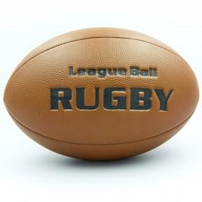 Мяч для регби RUGBY Liga ball PU, р-р 9in, коричневый (RG-0392-(br))