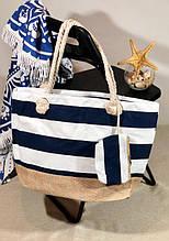 Пляжна сумка жіноча Стріпс №5