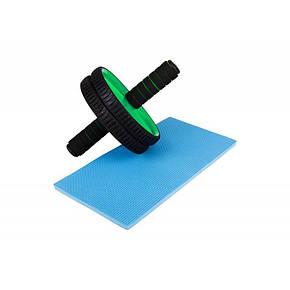 Ролик для пресса - зеленый, фото 2