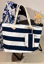 Пляжна сумка жіноча Стріпс №7