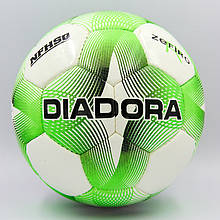 Мяч футбольный DIA, PU №4, 5 сл., сшит вручную (FB-8115-(gr))