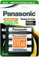 Аккумуляторня батарея Panasonic Evolta R6,  2450mAh