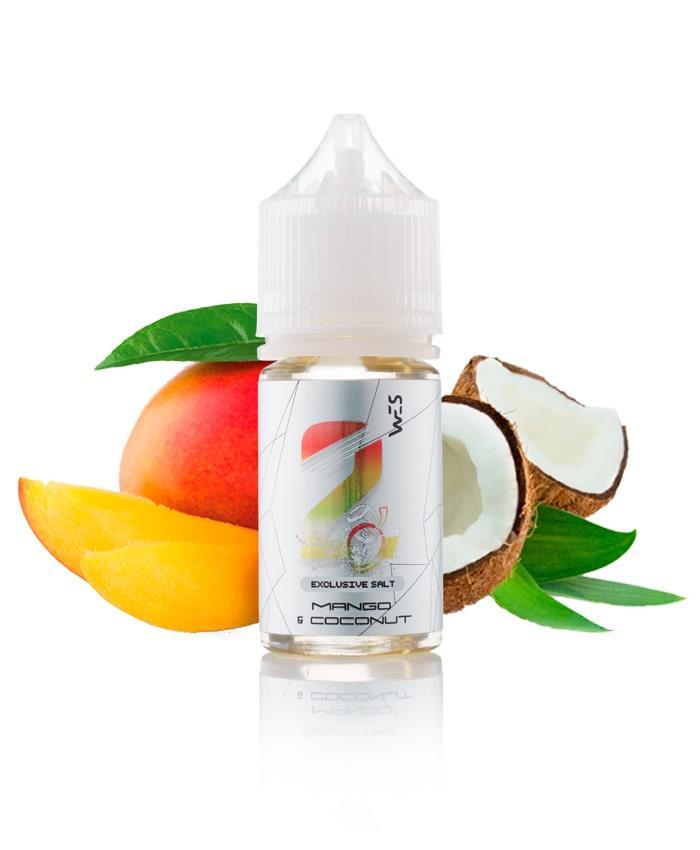 Солевая жидкость WES Silver | Mango Coconut