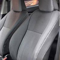 Чехлы на сиденья Hyundai Santa Fe 2000-2006 из Автоткани (Virtus), полный комплект (5 мест) Хюндай Санта Фе