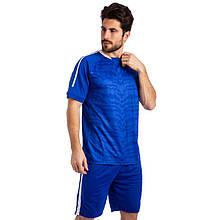 Футбольная форма Pixel, PL, р-р M-2XL-44-52, рост 165-185см., синий (1704-(bl))
