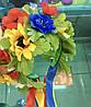 Корона і сережки, АДЕЛІНА, набір прикрас, діадема, тіара для волосся, фото 3