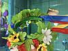 Корона і сережки, АДЕЛІНА, набір прикрас, діадема, тіара для волосся, фото 4