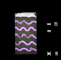 """Бумажный Пакет """"Colormix"""" 200*100*30, (В*Ш*Г), (уп/100шт) 1000шт/ящ, фото 1"""