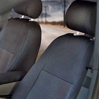 Чехлы на сиденья Seat Toledo 2012-2018 из Автоткани (Virtus), полный комплект (5 мест) Сеат Толедо