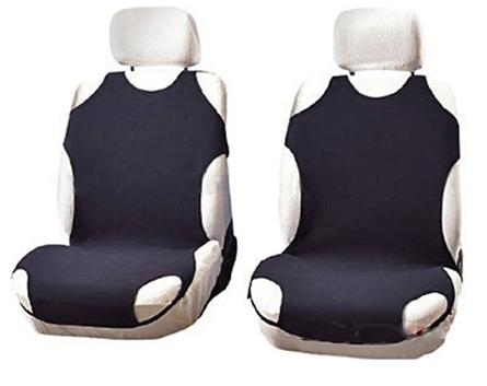 Чехлы-майки Elegant на передние сидения черные EL 105 252  новый дизайн