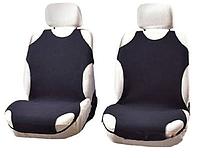 Чехлы-майки Elegant на передние сидения черные EL 105 252  новый дизайн, фото 1