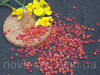 Бисер мелкий №12 Красный перламутр 450 грамм