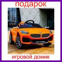 Детский электромобиль BMW Z4 оранжевый orange