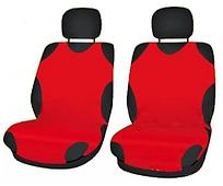 Чехлы-майки Elegant на передние сидения красные EL 105 251 новый дизайн