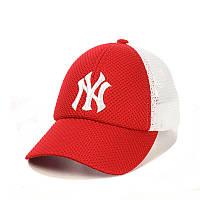 Подростковая бейсболка с сеткой и модным логотипом