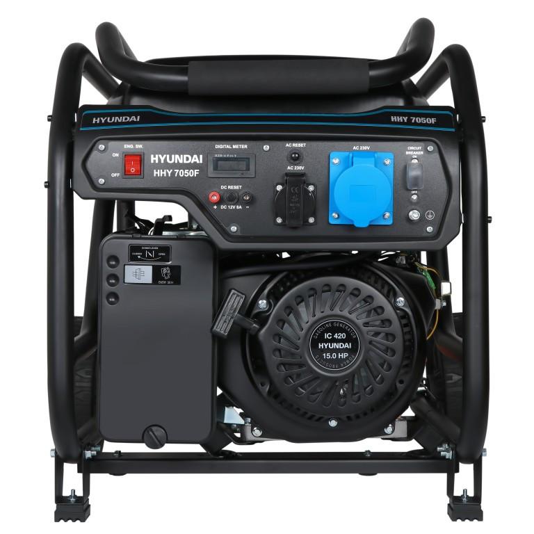 Бензиновий генератор Hyundai HHY 7020F (5.5 кВт)