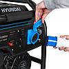 Бензиновый генератор Hyundai HHY 7050F (5 кВт), фото 6