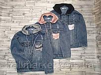 """Куртка джинсовая женская с капюшоном размер 42-46 (3цв) """"MONRO"""" недорого от прямого поставщика"""