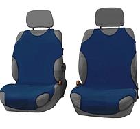 Чехлы-майки Elegant на передние сидения темно-синие EL 105 249  новый дизайн