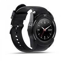 Смарт-часы Smart Watch V8 ЧЕРНЫЕ/Умные часы/Спорт часы/Фитнес браслет