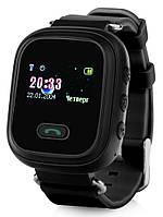 Детские Смарт-часы Smart baby Watch Q60 ЧЕРНЫЕ/ Умные часы/ Спорт часы/ Фитнес браслет