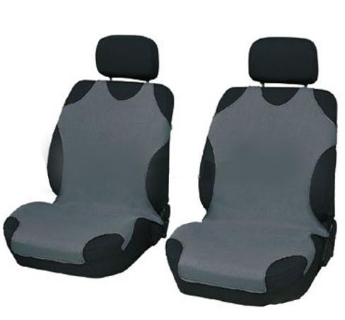 Чехлы-майки Elegant на передние сидения серые EL 105 248