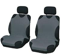 Чехлы-майки Elegant на передние сидения серые EL 105 248  новый дизайн