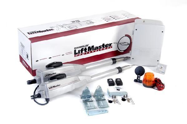 Автоматика для розпашних в'їзних воріт LiftMaster.