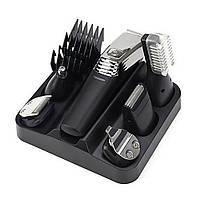Профессиональная машинка для стрижки волос с насадками Kemei LFQ-KM-5900 / триммер для волос