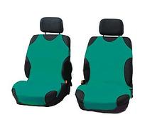 Чехлы-майки Elegant на передние сидения зеленые EL 105 246
