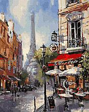 Картина по Номерам Парижские переулки 40х50см RainbowArt