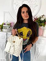 """Рюкзак женский эко-кожа pu (23 см x 28 см) """"Milanashop"""" 2P/NR-845"""