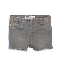 Детские джинсовые шорты для девочки, серые