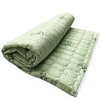 Одеяло Главтекстиль летнее бамбуковое полуторное 150*210 зеленое