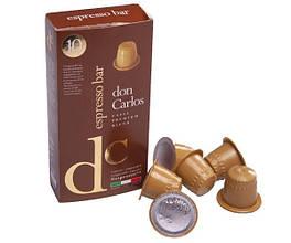 """Кофе в капсулах Don Carlos """" Espresso Bar"""" 10*5,2 г"""