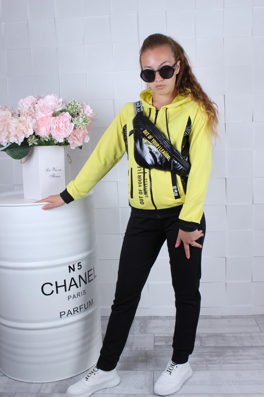 Подростковый спортивный костюм с бананкой р. 134-164 опт