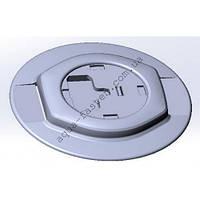 Mp218 Монтажная ПВХ площадка для установки компактного замка Fs218 на надувной  ПВХ борт (серый)