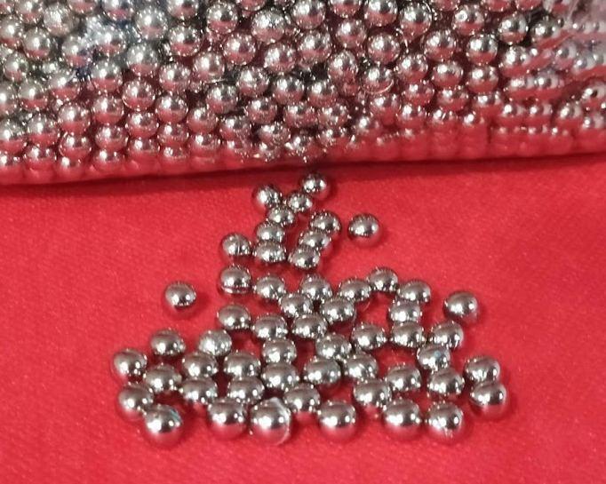 Бусы под жемчуг прибивные 6 мм ( Серебро )