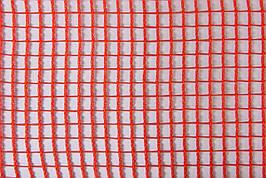 Сетка защитная рулон 1,9х50м плотность 110 г/кв.м ячейка 7х7мм оранжевая HDPE.orange