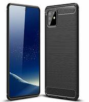 Чехол силиконовый Ultimate Experience (TPU) для Samsung Note 10 Lite N770 черный (самсунг нот 10 лайт)